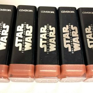 Lot of 5- COVERGIRL Star Wars Lipstick 70 Nude